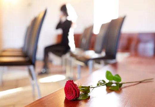 роза на столе и девушка