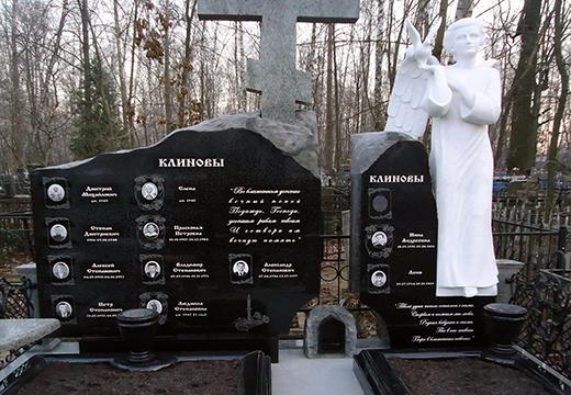 Захоронение Клиновых