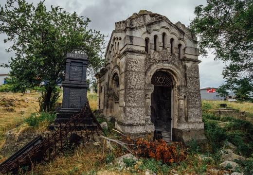 старинный еврейский склеп