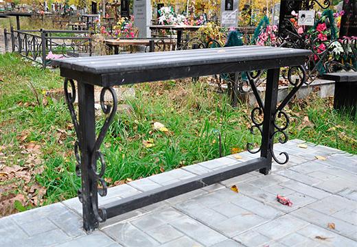 скамейка для кладбища