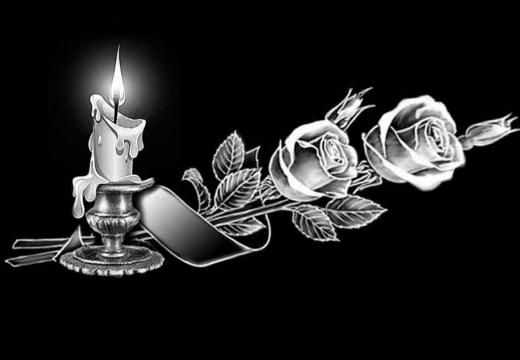 свеча розы на памятник