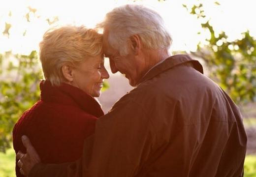 пара в возрасте