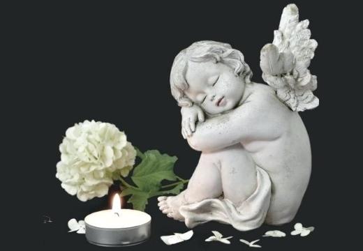 ангелочек свеча