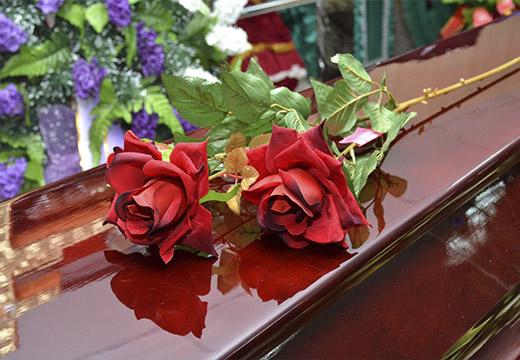 Розы на похороны