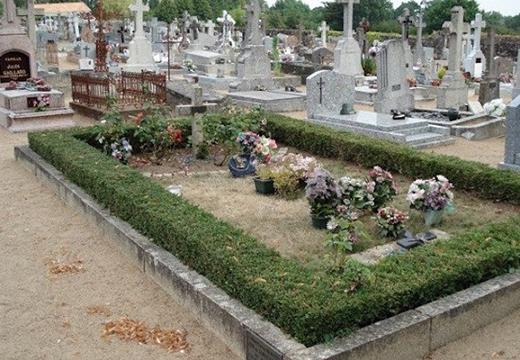 Как украшать могилу