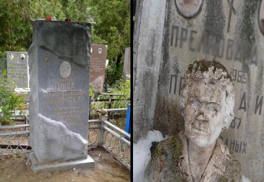 старые памятники на могилах