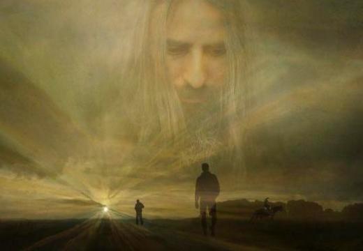 душа смотрит с неба