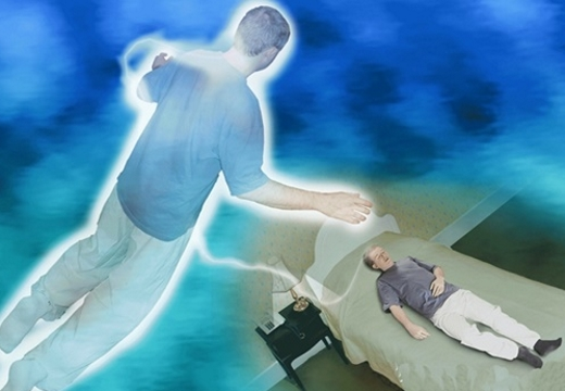 душа над человеком