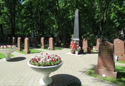 Памятники защитникам Москвы
