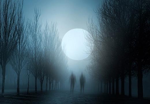 призраки на дороге